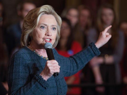 Hillary Clinton Campaigns Across Iowa