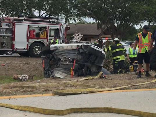 Two People Die In Single Car Crash Along Bayshore Road