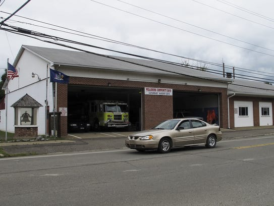 The Wellsburg Fire Department still operates out of