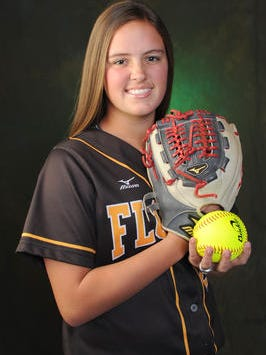 Florien's Abbey McMillian has been named the LSWA Class B Player of the Year for a third consecutive season.