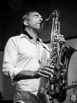 Saxaphonist Bill Tiberio