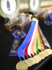 Judges placed 458 head of cattle during the International