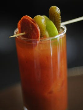 A bloody Mary at Centro.