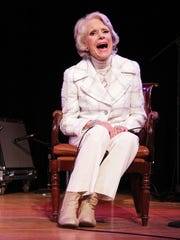 Carol Channing attends the 50th anniversary of Broadway's 'Hello Dolly!' l on Jan. 20, 2014, in New York.