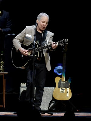 Paul Simon played Nashville's Bridgestone Arena Wednesday night. This is a submitted file photo taken earlier in the tour.