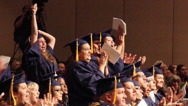 A total of 234 Southwest Florida student graduated on Saturday, June 14, 2014, at the Harborside Event Center in Fort Myers.