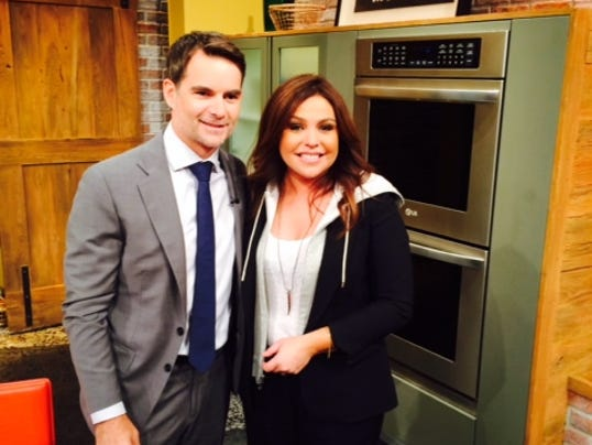 9-16-15-jeff gordon-rachel ray
