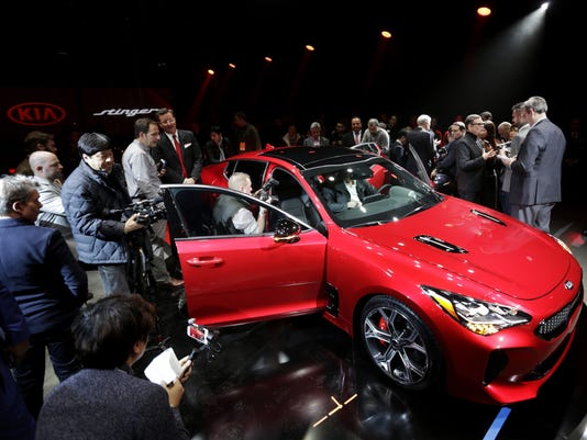 USP NEWS: DETROIT AUTO SHOW A CAR USA MI