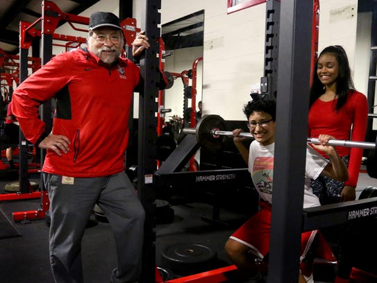 Don Berger has been named the girl's track and field