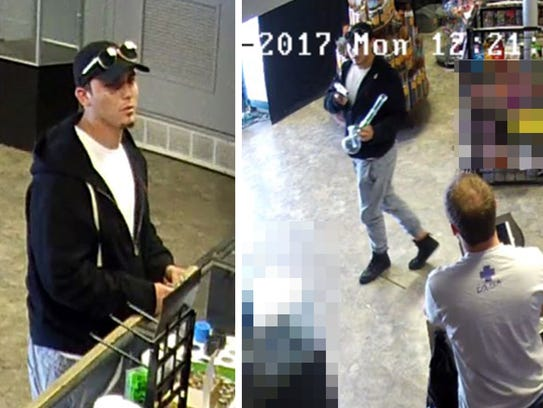 Video footage released of an unknown suspect who police