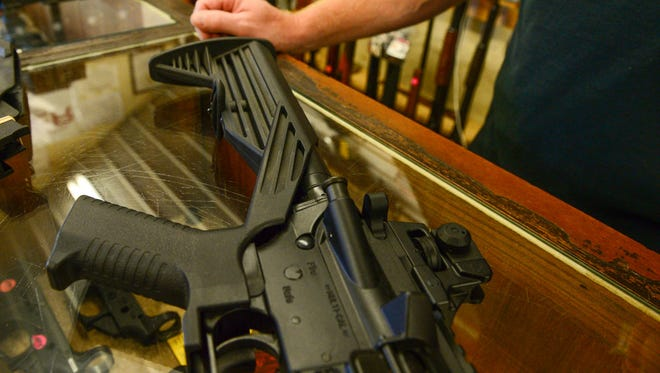 Tying a gun, like an AR-15 rifle, to its owner can be a tricky process. The federal Bureau of Alcohol, Tobacco, Firearms and Explosives doesn't maintain a database or keep centralized gun owner records in the U.S.
