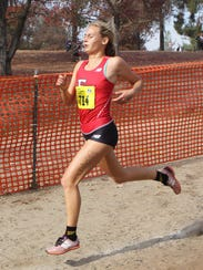 Blythe Blakeman took eighth to help Foothill Tech win