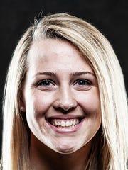 Stevenson basketball player Sara Tarbert (Kennard-Dale)