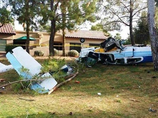 Small plane crash in Surprise