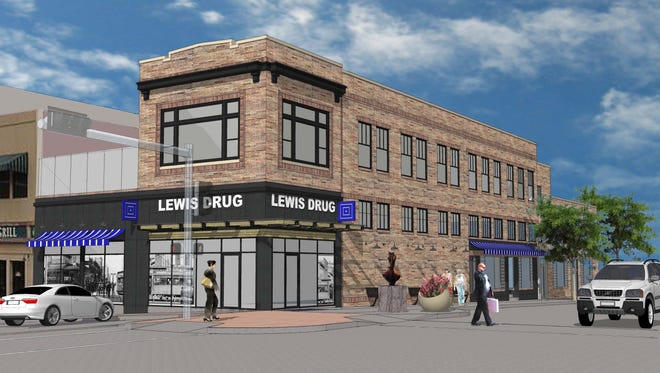 Lewis Drug plans to open downtown next spring.