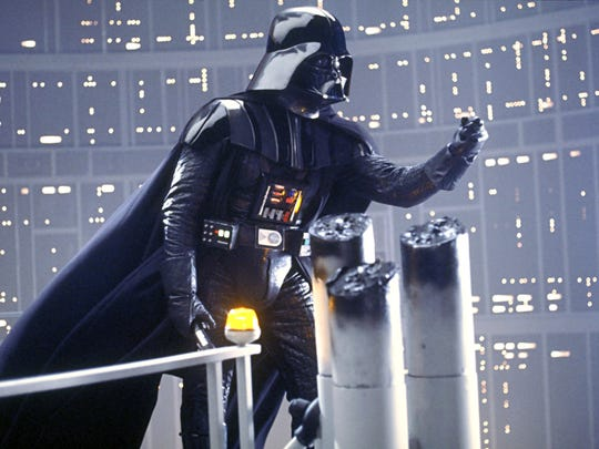 """Darth Vader (James Earl Jones) from """"Episode 5: The Empire Strikes Back."""""""