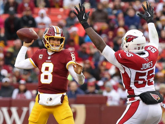 NFL: Arizona Cardinals at Washington Redskins