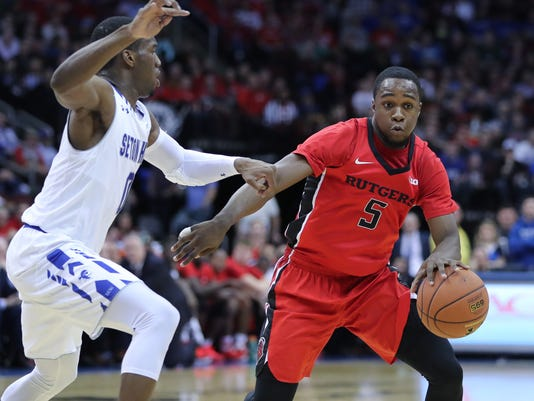 NCAA Basketball: Rutgers at Seton Hall