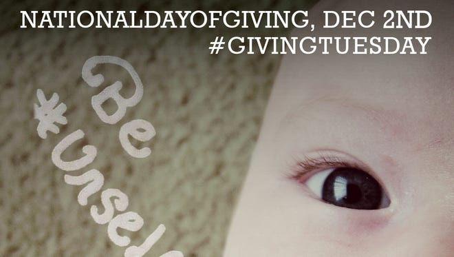 Tuesday is being called Giving Tuesday, a day to celebrate generosity toward the less fortunate.