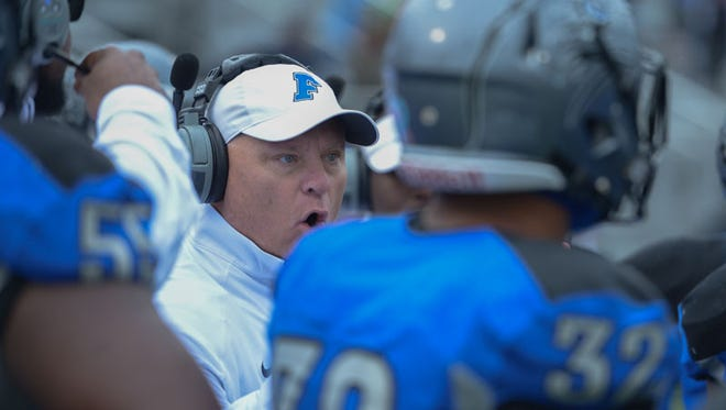 Faulkner coach Charlie Boren is looking to turn around a season in which the Eagles have lost three consecutive games.