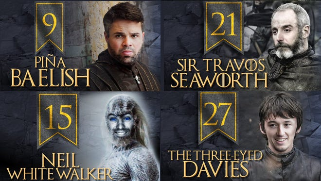 The Milwaukee Brewers created Game of Thrones characters out of the players for Tuesday's nights game.