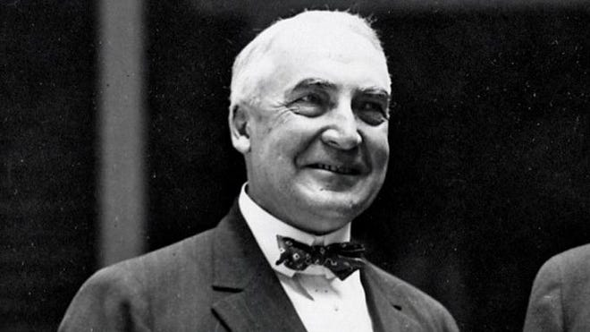 President Warren G. Harding had no children other than the daughter of his lover, Nan Britton.