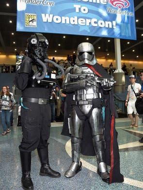 Many attendees came to WonderCon 2016 in Los Angeles