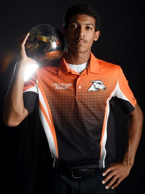 Kenneth Merrick of Lincoln Park Academy, all-area boys