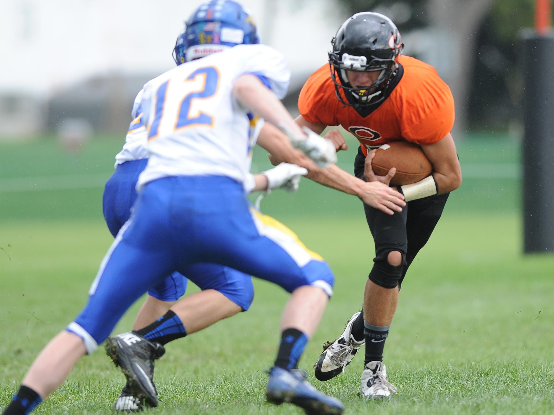 Oakfield's Tyler Burbach is entering his fourth year as the team's starting quarterback.