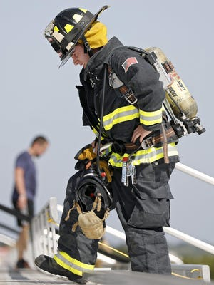 Ohio firefighters who work second jobs get dinged in Social Security benefits because of a 1983 law that reduces benefits to account for public pension payments.