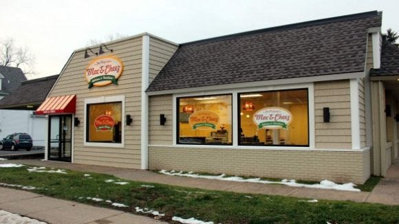 The Original Mac & Cheez restaurant is located on East Main Street in Webster. (M. Rosenberry)