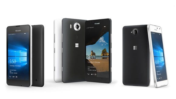 Microsoft's Lumia devices.