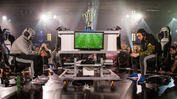 Electronic Arts' FIFA 17 Ultimate Team Championship Series in Berlin, Germany.