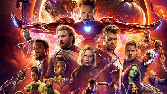 """Avengers: Infinity War"" broke box office records."