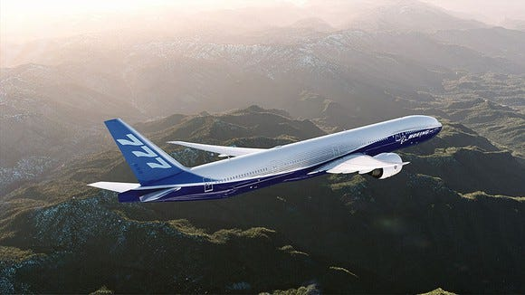 The popular Boeing 777 commercial aircraft uses engine controls manufactured by BAE Systems Control in Endicott.