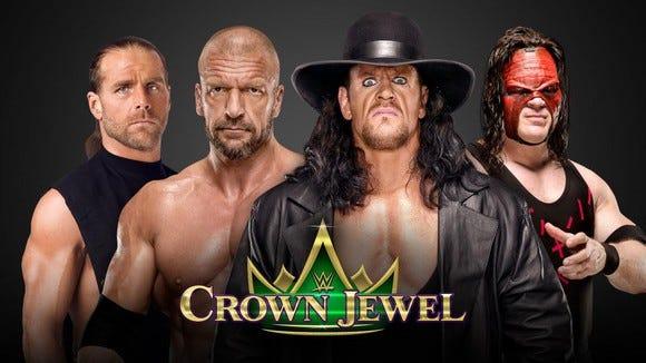 WWE Crown Jewel promotional art
