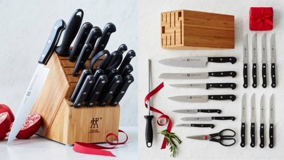 Zwilling knives are some of Reviewed's favorite, and this 8-piece steak knife set is a fan-favorite at Nordstrom Rack and Macy's.