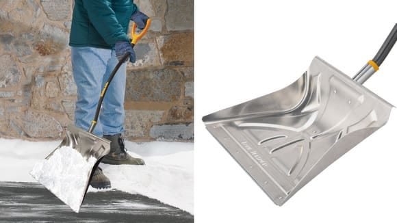 True Temper is the only shovel with a steel wear strip.