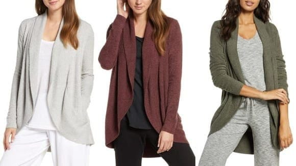 Best Nordstrom gifts: Barefoot Dreams CozyChic Cardigan