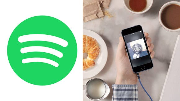 Choose from hundreds of pre-made playlists on Spotify or create your own.