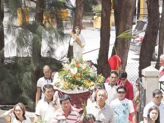 Saint Pedro Calungsod honored