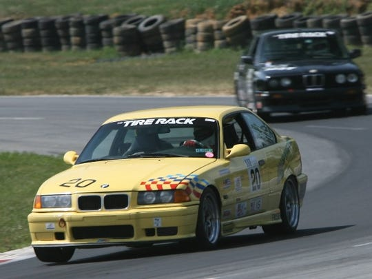 Dave Hogg, CEO of Springwood Hospitality, regularly competed in the BMW Raceway Series before suffering a severe concussion two years ago from a crash.