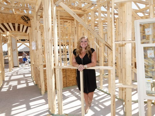 Tiffany Troyer bought a new home in the Austin suburbs
