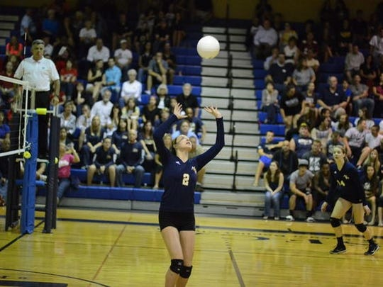 SFCA sophomore Kortney Curtis was chosen to compete for a shot with the USA A1 girls volleyball team, which will train at the United State Olympic Training Center in Colorado Springs, Colorado in July