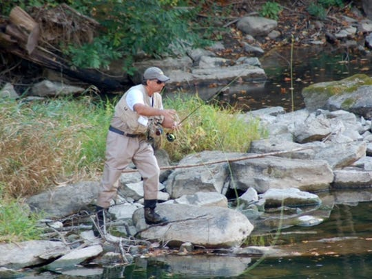 Penns Creek, a world class trout fishery, is under