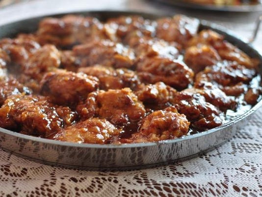 Amish Cook loria's Honey-Baked Sesame Chicken