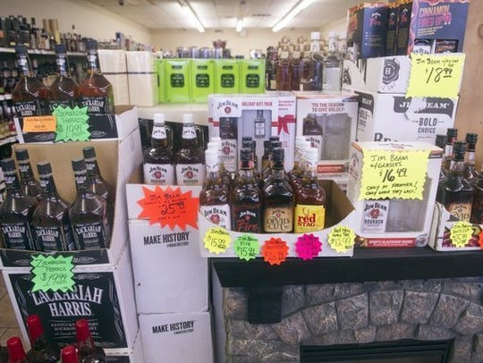 Liquor sales.
