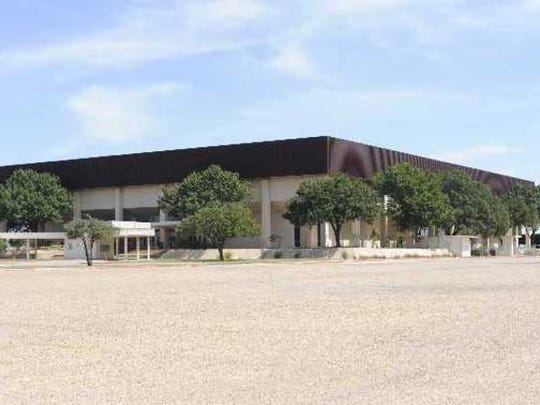 The Taylor County Expo Center.