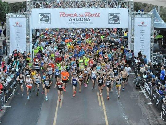 Rock 'n' Roll Arizona Marathon and ½ Marathon