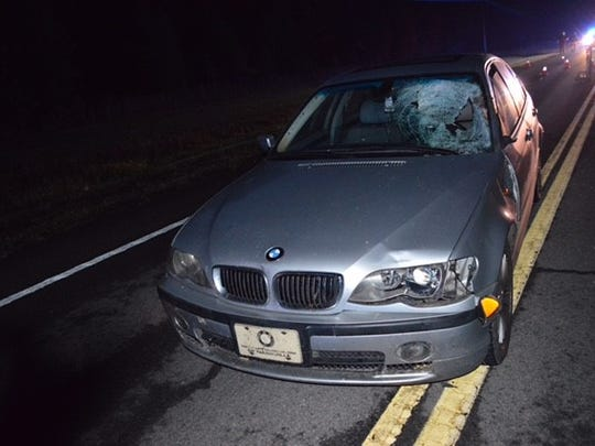 Emily Prisock was driving this car when she struck and killed Austin McGeough.